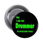Drummer 2 Inch Round Button