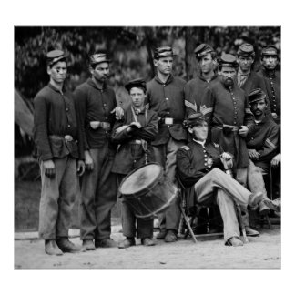 Drummer, 93rd New York Infantry Company C Poster