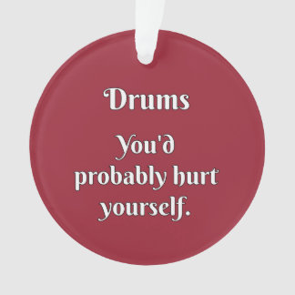 Drummer Attitude!