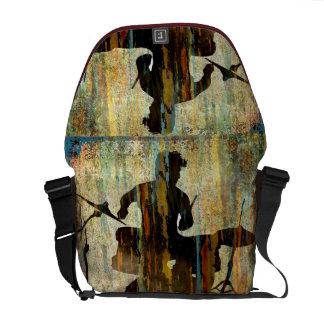 Drummer Bag, Copyright Karen J Williams Messenger Bag