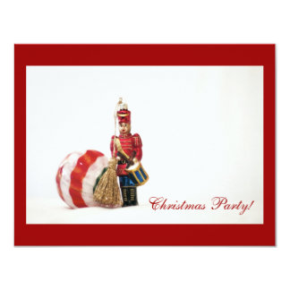 Drummer Boy and Christmas Ball Card