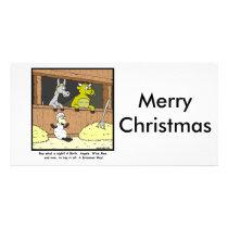 Drummer Boy: Christmas Cartoon Card