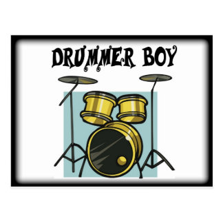 Drummer Boy of the Band Postcard