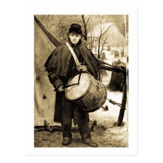 Drummer Boy Postcard