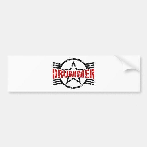 Drummer Bumper Sticker