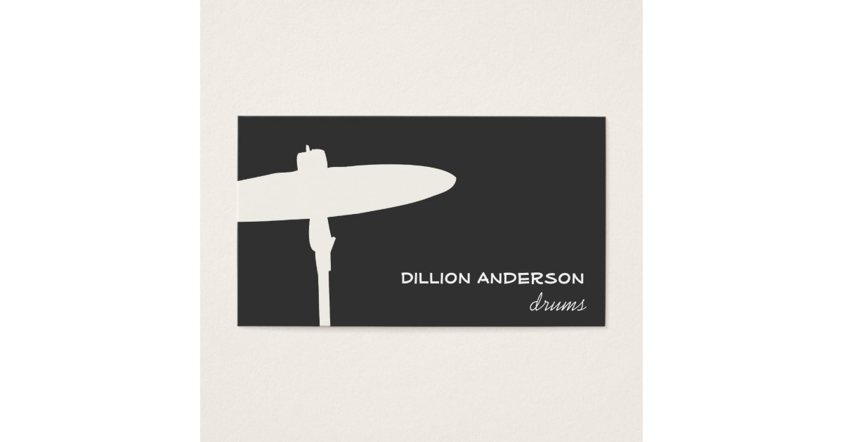 Drummer Business Card | Zazzle.com