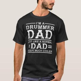 Drummer Dad T-Shirt