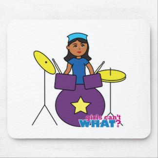 Drummer - Dark Mouse Pad
