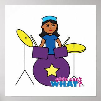 Drummer - Dark Poster