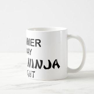 Drummer Deadly Ninja by Night Coffee Mugs