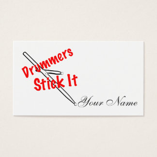 Drummer Drum Musician Business Cards
