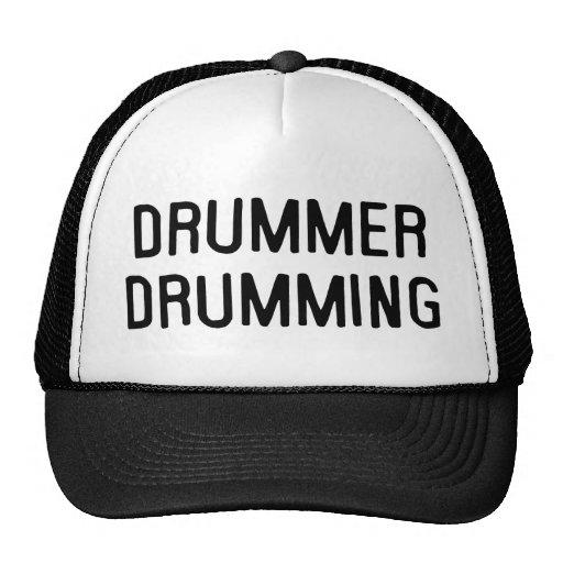 Drummer Drumming Trucker Hat