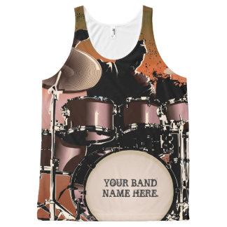 Drummer Drums Set All-Over-Print Tank Top