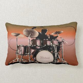 Drummer Drums Set Pillow