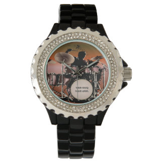 Drummer Drums Set Watch
