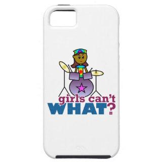 Drummer Girl iPhone SE/5/5s Case