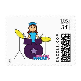 Drummer Girl Postage
