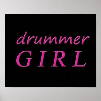 Drummer Girl Poster
