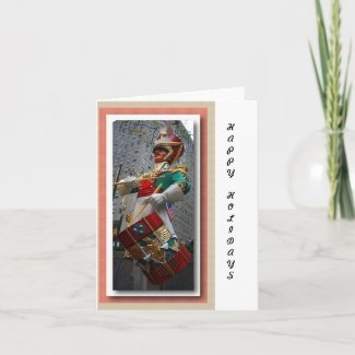 Drummer in New York Holiday Card