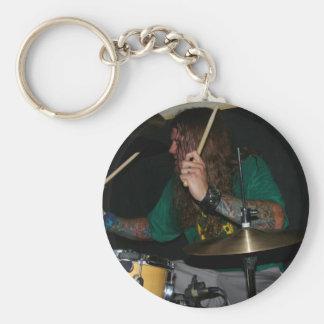 Drummer Keychain