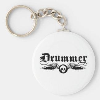 Drummer Keychains