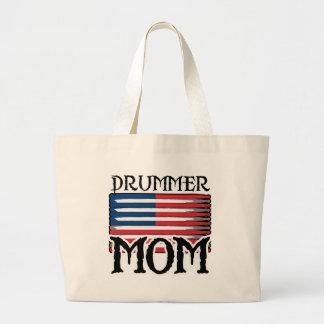 Drummer Mom Large Tote Bag