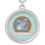 Drummer Music Jewelry Gift