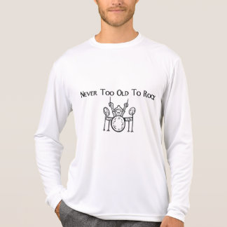 Drummer Never Too Old To Rock T-Shirt