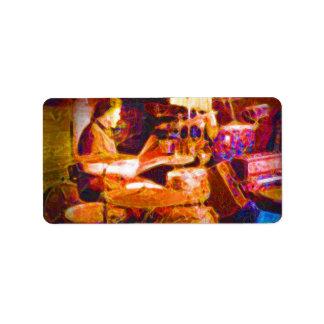 drummer on stage  behind kit artistic.jpg custom address label
