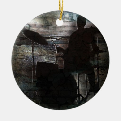 Drummer ornament 2, Copyright Karen J Williams