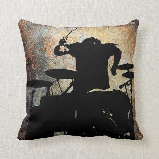 Drummer Pillow 3, Copyright Karen J Williams