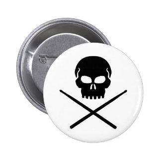 Drummer Pinback Buttons