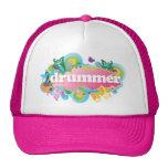 Drummer Retro Burst Mesh Hats
