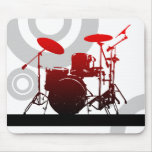 drummer rings mouse pad