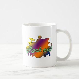 Drummer Rock On Coffee Mug