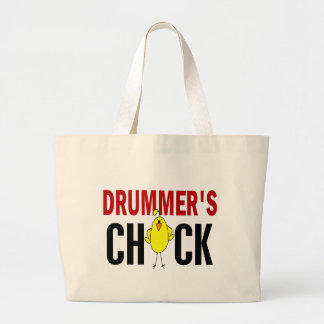 Drummer's Chick 1 Tote Bags
