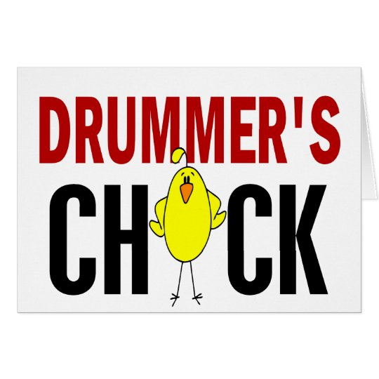 Drummer's Chick 1 Card