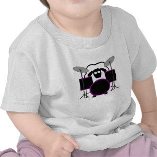 Drummer Sheep Baby Shirt