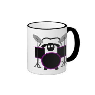 Drummer Sheep Mug