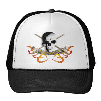 Drummer skull C Mesh Hat