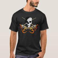 Drummer skull C T-Shirt
