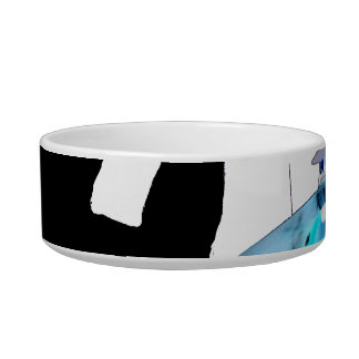 Drummer sticks in air shadow blue invert drums cat bowl