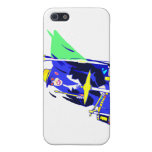 Drummer Sunglasses Blue and Yellow graphic Cover For iPhone 5