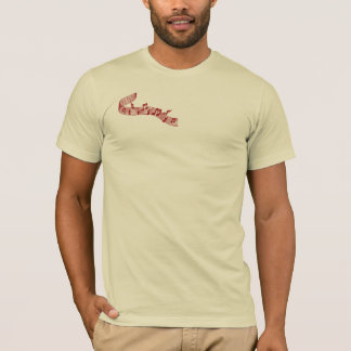 Drummer T Shirt in Red
