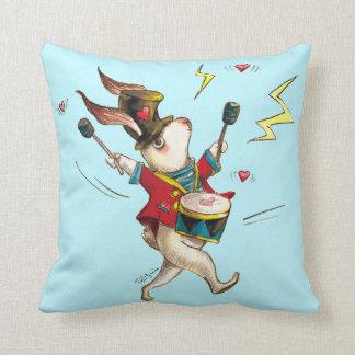 Drummer! Throw Pillow