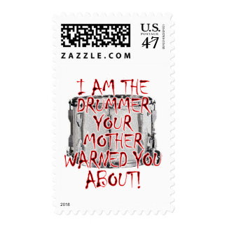 Drummer: Your Mother Warned You Postage
