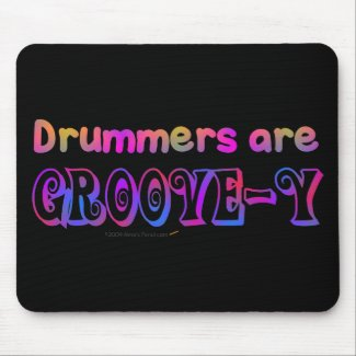 Pscychedelic Colors Percussion Mousepad/ Mouse Mat