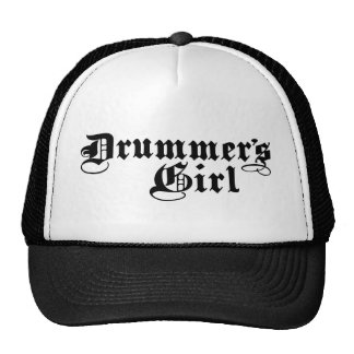Drummer's Girl Trucker Hats