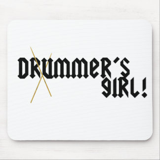 Drummer's Girl! Mouse Pad