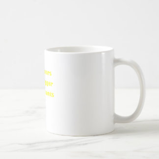 Drummers have bigger instruments coffee mug